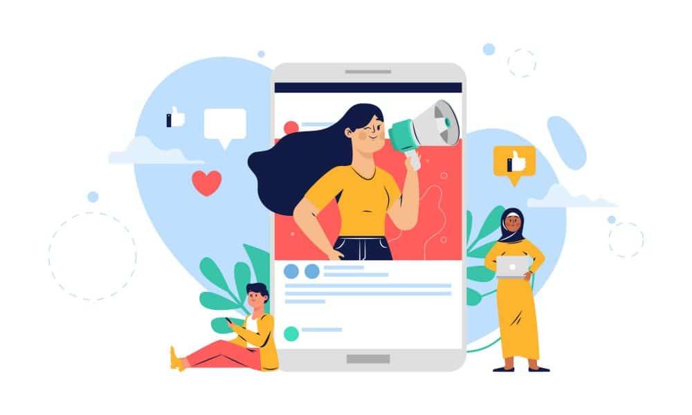 Social media SETdc